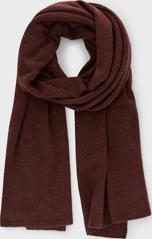 PIECES Scarf in Red