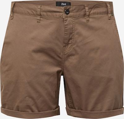 Pantaloni 'BETTY' Zizzi pe maro, Vizualizare produs