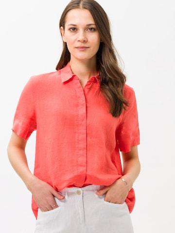 BRAX Bluse 'Velia' in Rot