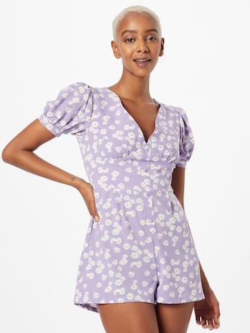 Daisy Street Jumpsuit - fialová