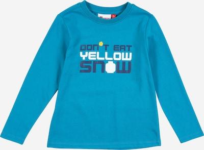LEGO WEAR Koszulka 'TAUPO' w kolorze granatowy / turkusowy / białym: Widok z przodu