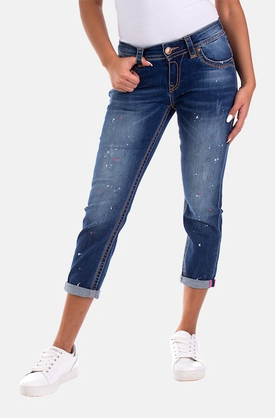 Blue Monkey Jeans 'Charlotte' in Blue, View model