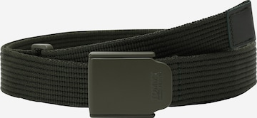 Tommy Jeans Belt 'PLAQUE' in Green