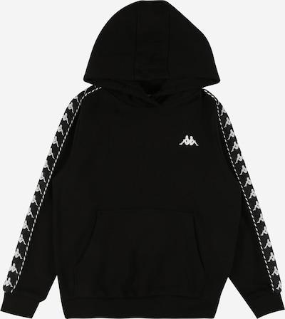 KAPPA Sportisks džemperis 'IGON' melns / balts, Preces skats