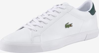 LACOSTE Låg sneaker 'Lerond Plus' i ljusgrön / eldröd / svart / vit, Produktvy
