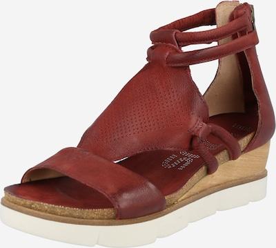 Sandale 'TAPASITA' MJUS pe roșu pastel, Vizualizare produs