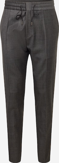 HUGO Trousers with creases 'Howard' in grey / black, Item view