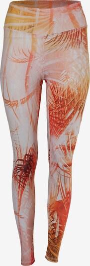 Kismet Yogastyle Leggings in gelb / mischfarben / orange / weiß, Produktansicht