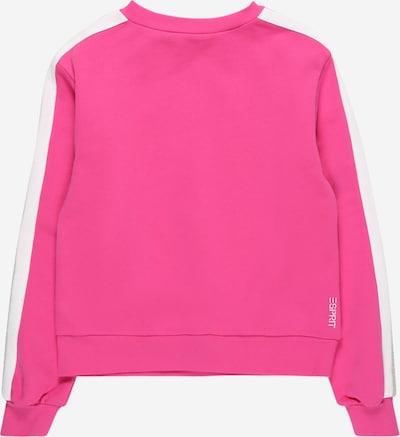 ESPRIT Sweater majica u siva melange / roza / bijela, Pregled proizvoda