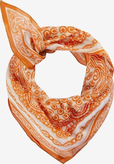 Mască de stofă CODELLO pe portocaliu / alb, Vizualizare produs