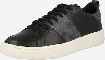 Sneaker low 'VERONA' de la GUESS pe negru