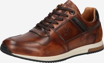 La Martina Sneakers 'BUTTERO' in Brown