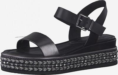 MARCO TOZZI Páskové sandály - černá, Produkt