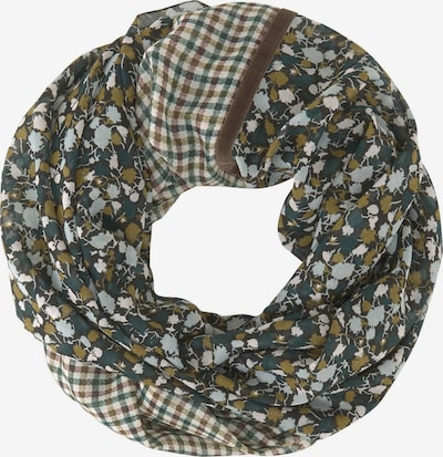 TOM TAILOR Scarf in Blue / Brown / Green / White, Item view