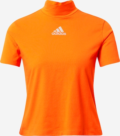 ADIDAS PERFORMANCE Functioneel shirt in de kleur Donkeroranje / Wit, Productweergave