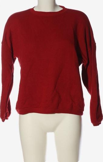 Subdued Sweatshirt in S in rot, Produktansicht