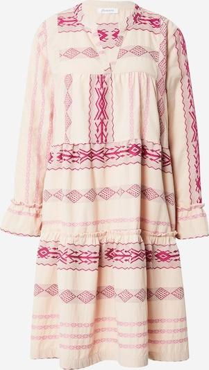 Flowers for Friends Kleid in beige / pink / hellpink, Produktansicht