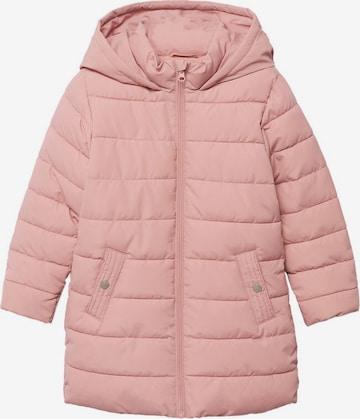 Manteau MANGO KIDS en rose