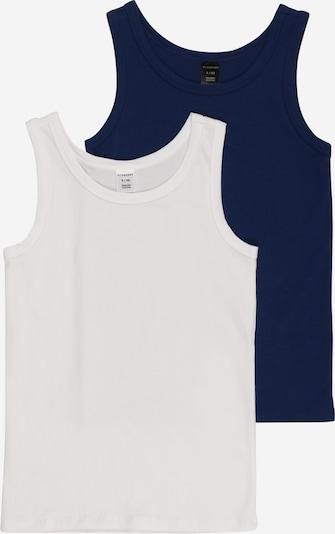 SCHIESSER Podkoszulka w kolorze ciemny niebieski / białym, Podgląd produktu