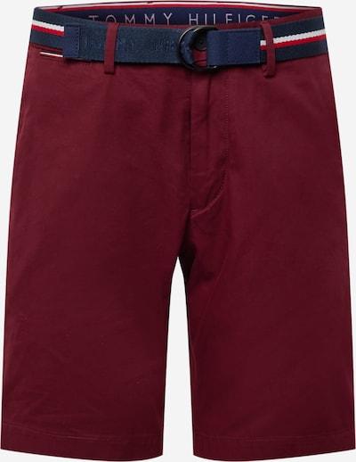 TOMMY HILFIGER Chinobyxa 'Brooklyn' i marinblå / röd / vit, Produktvy