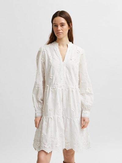 SELECTED FEMME Haljina u bijela, Prikaz modela