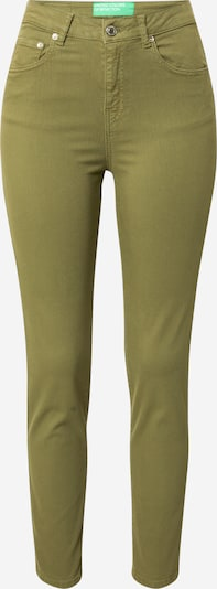 UNITED COLORS OF BENETTON Hose in dunkelgrün, Produktansicht