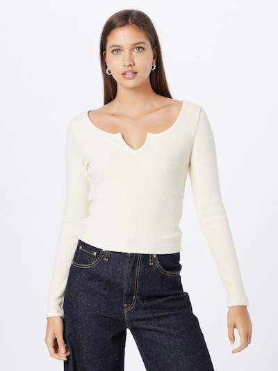 ABOUT YOU Shirt 'Remy' in creme: Frontalansicht