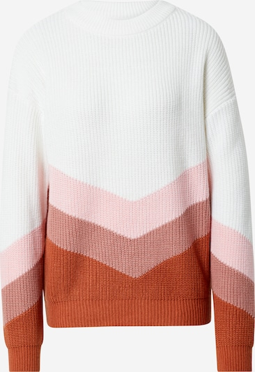 ROXY Pulover u rosé / tamno roza / bijela, Pregled proizvoda