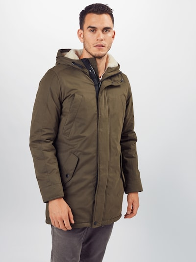 Q/S designed by Zimný kabát - kaki, Model/-ka