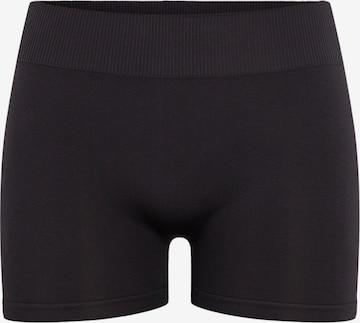 PIECESHlače - crna boja