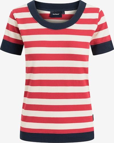 Sea Ranch Shirt in marine / rot / weiß, Produktansicht