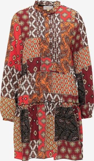 usha FESTIVAL Robe d'été en mélange de couleurs, Vue avec produit