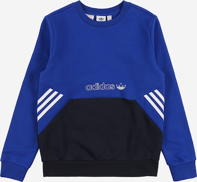 ADIDAS ORIGINALS Sweatshirt in blue / night blue / white, Item view