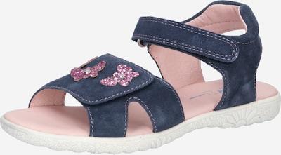 RICHTER Sandales en bleu foncé / rose, Vue avec produit