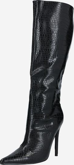 Cizme peste genunchi 'Define' Public Desire pe negru, Vizualizare produs