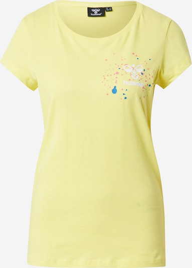 Hummel Camiseta funcional en amarillo pastel, Vista del producto