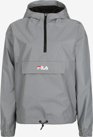 FILA Athletic Jacket 'Ena' in Grey