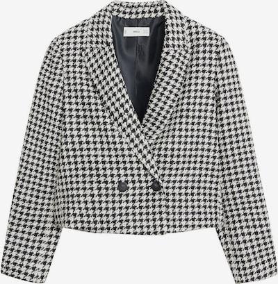 MANGO Blazer 'Cuadri' in schwarz / weiß, Produktansicht