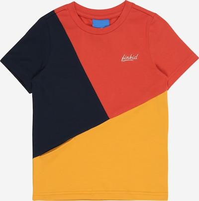 FINKID Tričko 'ANKKURI' - zlatá žltá / červená / čierna, Produkt