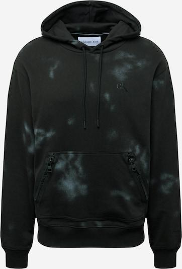 Calvin Klein Jeans Sweatshirt in azur / schwarz, Produktansicht