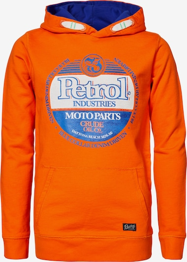 Petrol Industries Hoodie in blau / orange, Produktansicht
