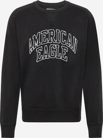 American Eagle Sweatshirt in Black