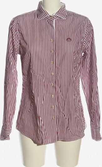 LISA CAMPIONE Langarmhemd in XS-XL in braun / weiß, Produktansicht