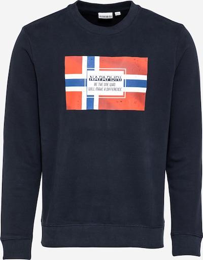 tengerészkék / galambkék / piros / fehér NAPAPIJRI Tréning póló 'BERA', Termék nézet