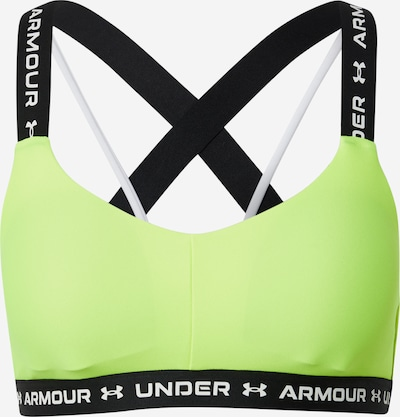 UNDER ARMOUR Sports Bra in Yellow, Item view