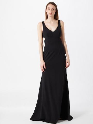 STAR NIGHT Kleid - Čierna