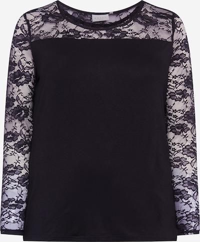 KAFFE CURVE T-shirt 'Laura' en noir, Vue avec produit