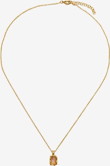 Lanțuri 'EGEO' MANGO pe auriu / roz pal, Vizualizare produs