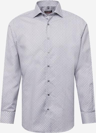 ETERNA Hemd in dunkelgrau / weiß, Produktansicht