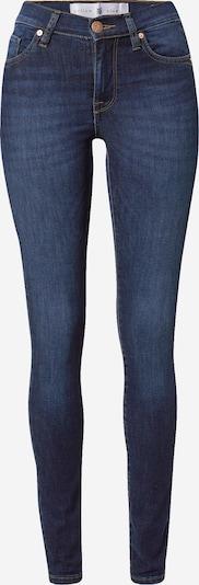 Yellow Blue Denim Jean 'New Soph' en bleu foncé, Vue avec produit